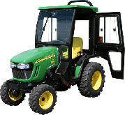 John Deere Cab and Enclosure - 2025R, 2320