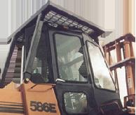 Case Cab and Enclosure - 584E, 585E, 586E