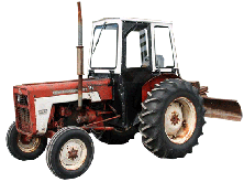 Massey Ferguson Cab and Enclosure - 1165, 165, 255