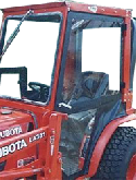 Kubota Cab and Enclosure - B1700, B2100, B2400, B2410, B7300, B7400, B7500