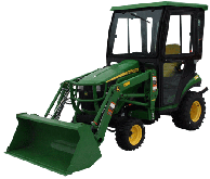 John Deere Cab and Enclosure - 1023E, 1025R, 1026R