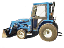New Holland Cab and Enclosure - T1510, T1520, TC30