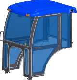 Landini Cab and Enclosure - 2840, 2840H, 3240, 3240H, 3640, 3640H