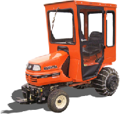 Kubota Cab and Enclosure - G2160, G2460, G2460G