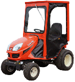 Kubota Cab and Enclosure - GR2010G, GR2020G, GR2100, GR2110, GR2120