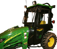 John Deere Cab and Enclosure - 2032R, 2520, 2720