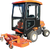 Kubota Cab and Enclosure - F2680E, F2880, F2880E, F3080, F3680