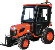 Kubota Cab and Enclosure - B2320, B2620, B2920