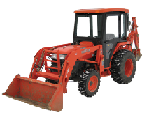 Kubota Cab and Enclosure - L2800, L2800HST, L3400, L3400DT, L3400HST