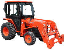 Kubota Cab and Enclosure - L2800, L2800HST, L3400, L3400DT, L3400HST, L3700SU...