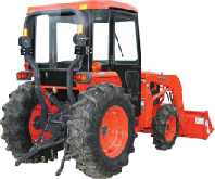 Kubota Cab and Enclosure - L4400, L4400DT, L4400HST