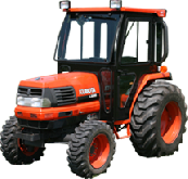 Kubota Cab and Enclosure - L2900, L3300