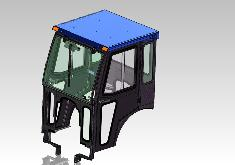 Landini Cab and Enclosure - 1-25H, 1-25M