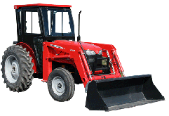 Massey Ferguson Cab and Enclosure - 2605, 2615