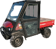 Kawasaki Cab and Enclosure - Mule 3000, Mule 3010