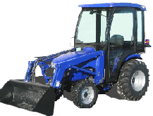 New Holland Cab and Enclosure - Boomer 2030, Boomer 2035, T2210, T2220, TC25, TC25...
