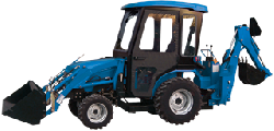 New Holland Cab and Enclosure - TC18A, TC21DA, TC23DA, TC24DA, TC26DA