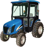 New Holland Cab and Enclosure - Boomer 2030, Boomer 2035, T2210, T2220, TC25DA, TC...