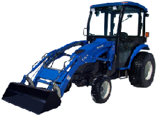 New Holland Cab and Enclosure - Boomer 3040 HST, Boomer 3045 HST, T2310 HST, T2320...