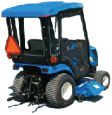 New Holland Cab and Enclosure - TZ18DA, TZ22DA, TZ24DA, TZ25DA