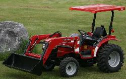 Massey Ferguson Cab and Enclosure - Sun Shade