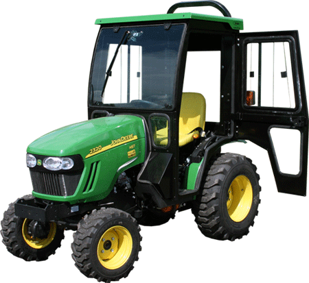 john deere r tractor cabs and cab enclosures sims cab john deere 2025r 2320 tractor cabs and cab enclosures sims cab depot