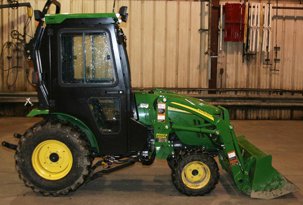 john deere 2032r 2520 2720 tractor cabs and cab enclosures sims rh cabdepot com