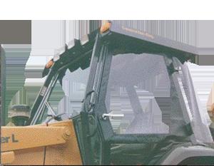 Case 580L, 580SL, 590L Enclosure Kit