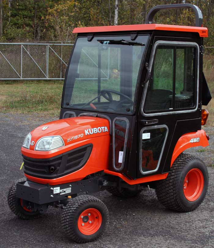 Kubota Bx2360 Accessories : Kubota bx tractor cabs and cab enclosures sims depot