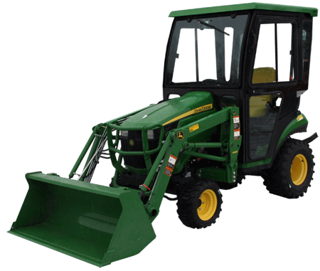 john deere 1023e 1025r 1026r tractor cabs and cab enclosures images and optional accessories are shown here for example only and not accurately represent the actual tractor model and or available cab accessories