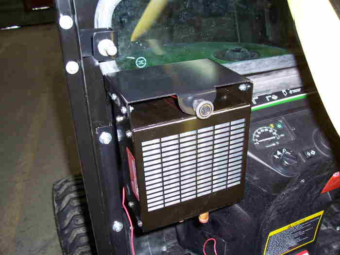 Tractor Cabs and Cab Enclosures - Hot Water Heater Kit