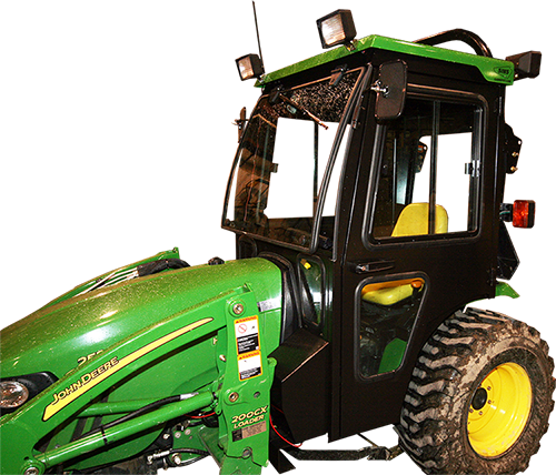 john deere 2032r 2520 2720 tractor cabs and cab enclosures images and optional accessories are shown here for example only and not accurately represent the actual tractor model and or available cab accessories