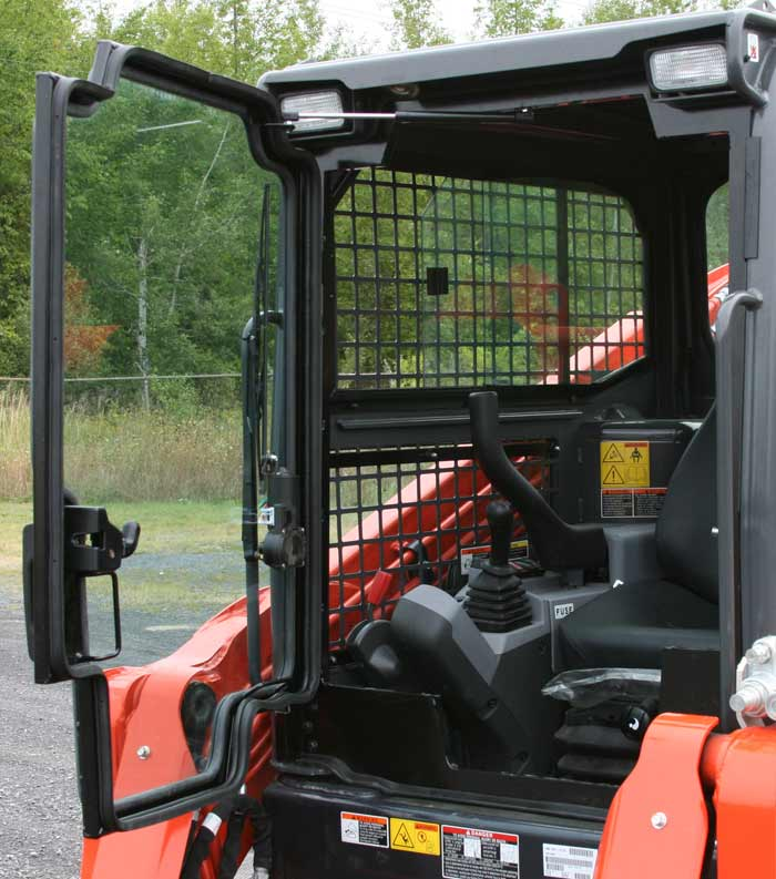 Tractor Cabs And Cab Enclosures Front Glass Door