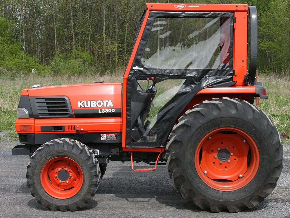 kubota l2900 l3010 l3300 l3410 l3710 l4310 l4610 tractor cabs rh cabdepot com Kubota L3710 Parts Diagram Kubota L245DT