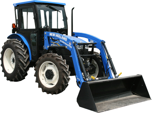 New Holland Workmaster 45, Workmaster 55 Indy Cab on