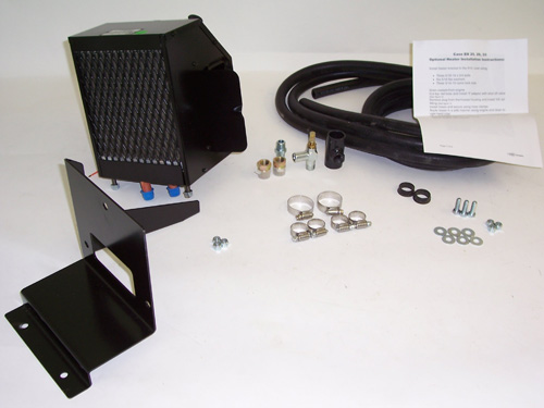 Tractor Cabs And Cab Enclosures Hot Water Heater Kit