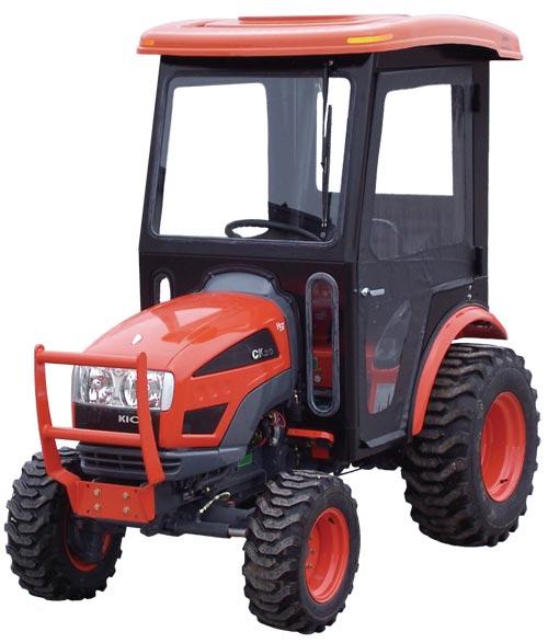 Kioti Tractor Accessories : Kioti ck tractor cabs and cab enclosures sims depot