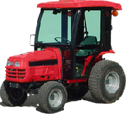 Massey Ferguson Cab and Enclosure - 1428V Hydro, 1431