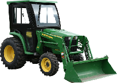 John Deere Cab and Enclosure - 3032E, 3038E