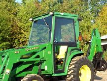 John Deere Cab and Enclosure - 4100