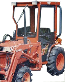 Kubota Cab and Enclosure - B1550, B1750
