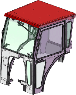 Case I.H. Cab Enclosure