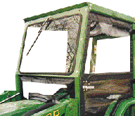 John Deere Cab and Enclosure - 4005, 870, 970, 990