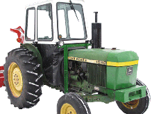John Deere Tractor Cabs and Cab Enclosures - Sims Cab Depot