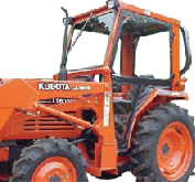 Kubota Cab and Enclosure - L2250, L2550, L2650, L2950