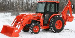 Kubota Cab and Enclosure - L4600DT, L4600HST