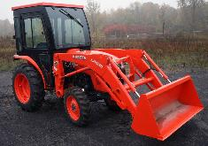 Kubota Cab and Enclosure - L3301, L3901