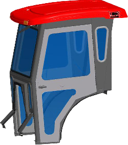 Mahindra Cab Enclosure