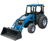 New Holland Cab and Enclosure - Boomer 4055, Boomer 4060, T2410, T2420, TC48DA, TC...