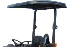 Kubota Cab and Enclosure - Sun Shade